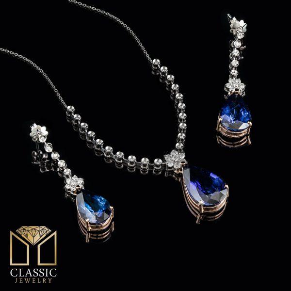 گردنبند جواهر